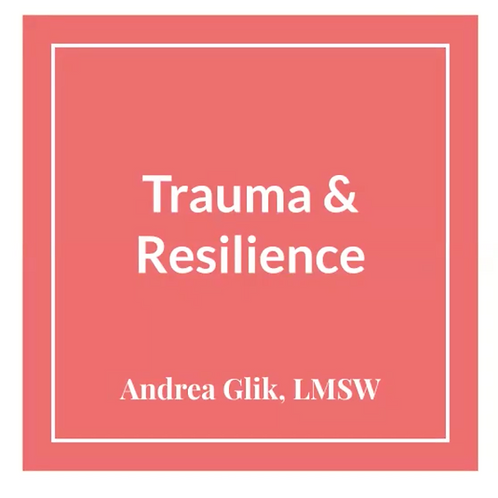 Trauma & Resilience for Clinicians & Healers