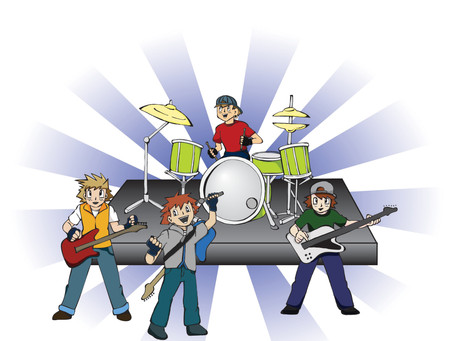 Pokémon-Style Punk Band