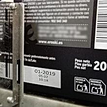 Impresora de fecha de caducida y lote - Marcador de lote