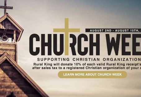 Church Week: Why Rural King Is Our Favorite Store