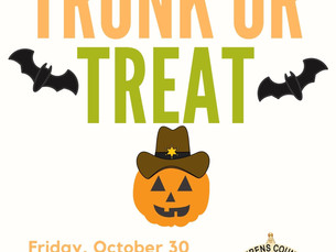 Trunk or Treat This Friday