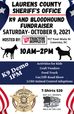 K9 and Bloodhound Fundraiser- October 9th