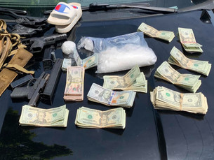 Over 700 Grams of Meth Seized, $10,000