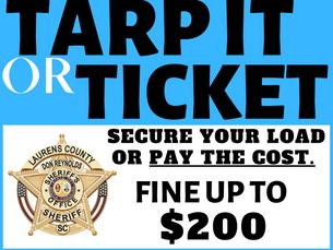 Tarp It or Ticket