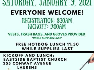 Wattsville Community Cleanup This Saturday
