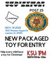 American Legion Post 25 Hosting Toy Run
