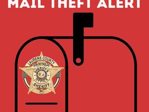Mail Theft Alert