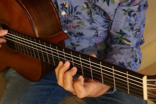 Capricho 1 by M. Carcassi. Solo. Francisco Burgos, guitar