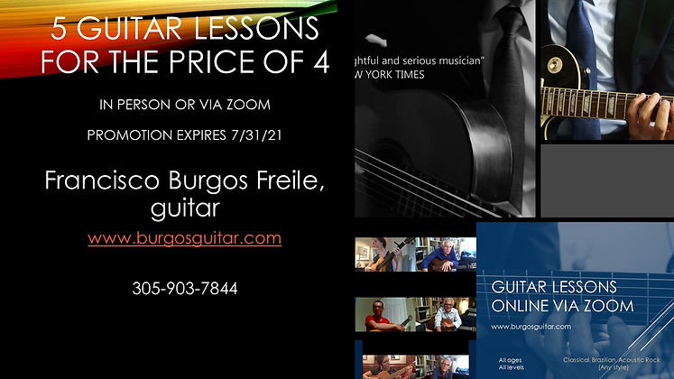 5 guitar lessons for the price of 4. Promotion expires July 31, 2021.jpg