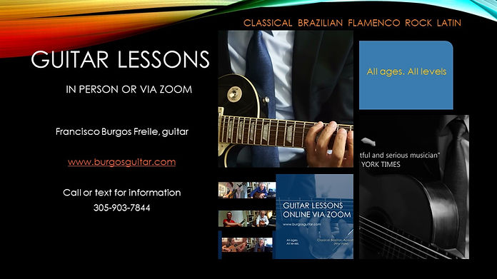 Guitar lessons composite 2. Styles at th