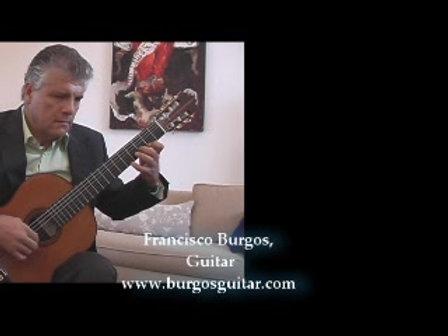 Pavaniglia for guitar by Carlo Calvi