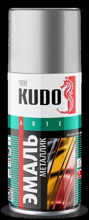 Эмаль универсальная металлик REFLECTIVE FINISH KUDO KU-1027 ХРОМ