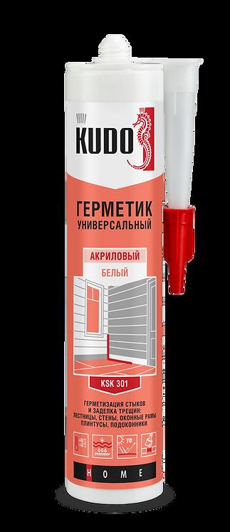 Герметик акриловый универсальный KUDO KSK 301 БЕЛЫЙ 280 мл