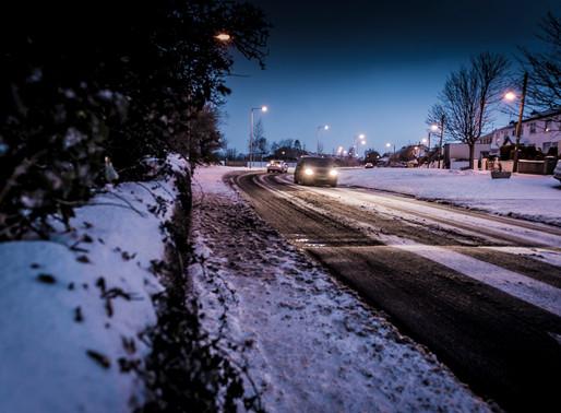 Dusk in the Snow