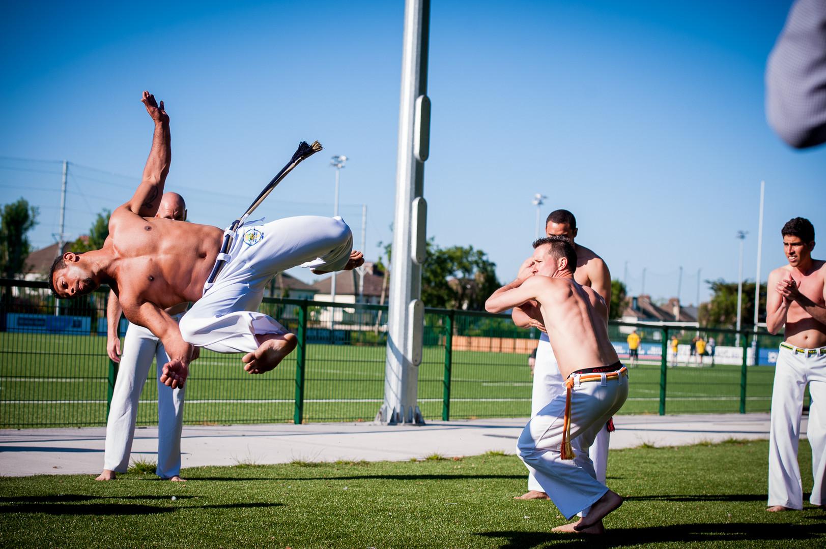 Capoeira Display
