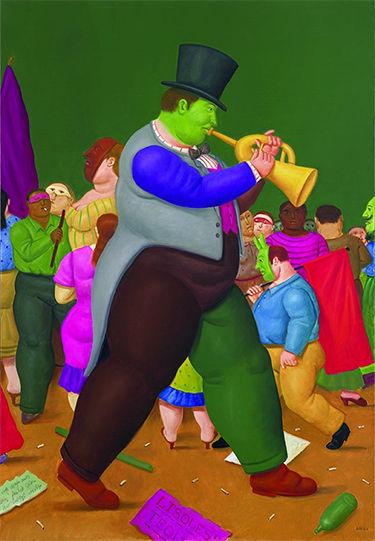 Fernando Botero, 'Carnival (B)'