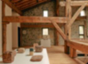 Vista parcial de la exposición 'Eduardo Chillida. Ecos'