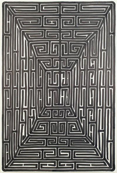 James Siena, 'Closed Heliopolis', 2007. Cortesía del artista y Pace Gallery