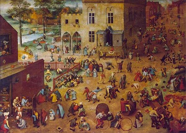 Pieter Brueghel, 'Juego de niños', 1560
