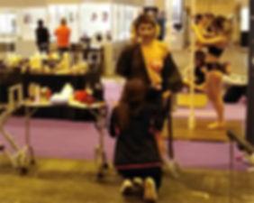 Body Paint y Pole Dance