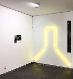 Guillermo García Cruz, instalación en galería Diana Saravia