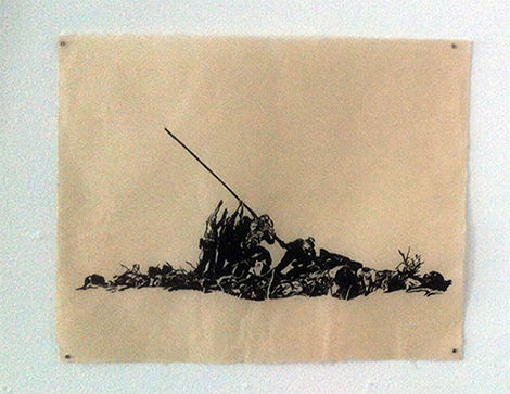 Miquel Garcia, 'Flagged', 2014