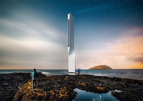 Proyecto Evolving Lighthouse. Vista exterior