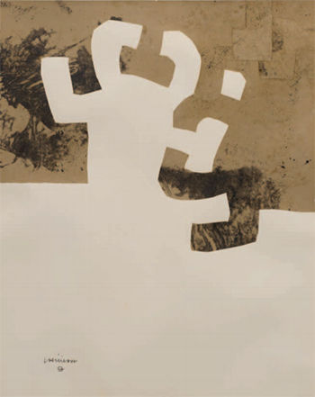 Eduardo Chillida, 'Collage', 1972
