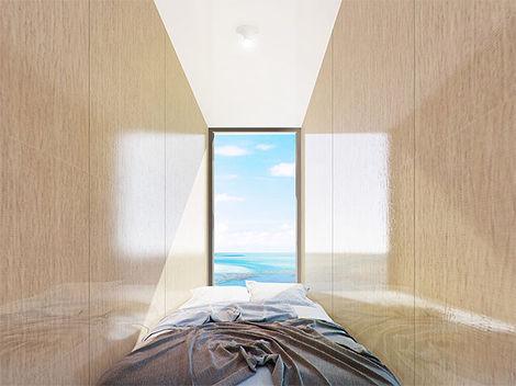 Proyecto Evolving Lighthouse. Vista interior
