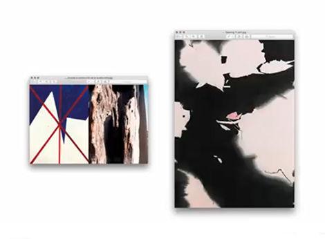 Obras en la muestra