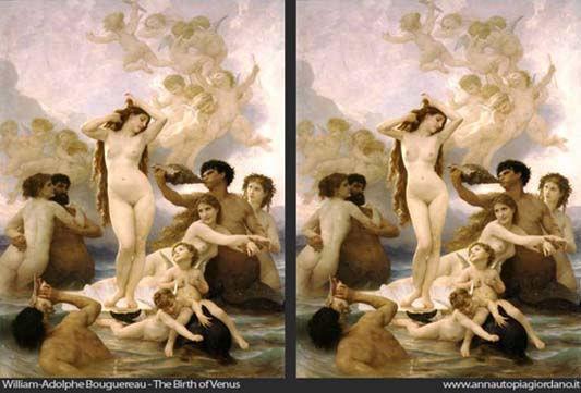 Bouguereau, ''Naissance de Vénus'