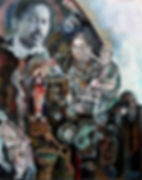 Felipe Alarcón, serie 'Mestizos: de Aponte a Belkis Ayón'