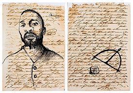 Ayrson Heráclito, serie 'Desenhos da liberdade'