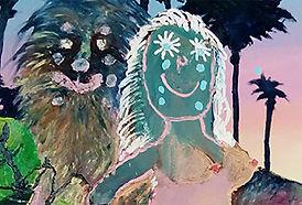 Bel Fullana, 'Tarzana Universe Possession', 2018 (detalle)