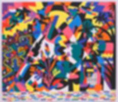 Obra en la exposición