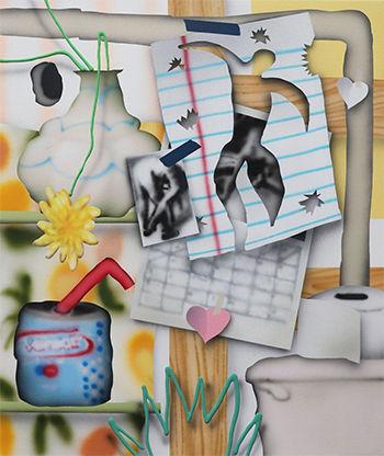 Brandon Lipchik, 'Bathroom Cutouts'