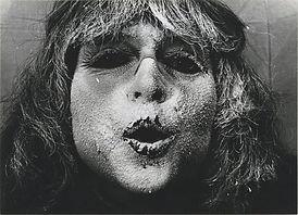 Ladik Katalin, 'Poemask II/4', 1982