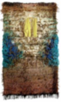 Josep Grau-Garriga, 'Cada Día', 1990-92, lana, jute, tela y cuerda, 300 x 180 cm