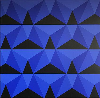 Alberto Sanchez, 'Cobalto piramidal', 2019
