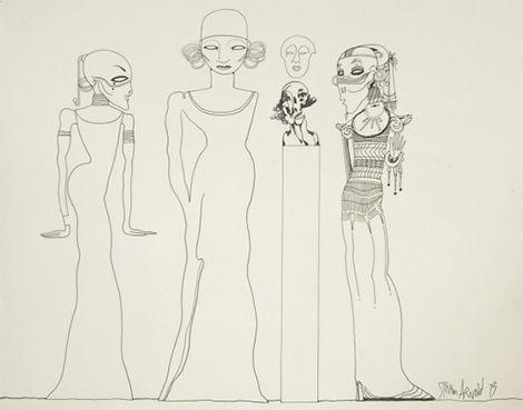 Steven Arnold, Untitled, 1973