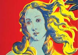 Warhol, 'Birth of Venus Rred'