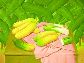 Fernando Botero, 'Still Life with Bananas'