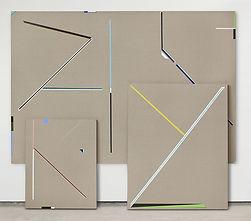 Obras en la muestra 'Estados de un cuerpo' de Jorge Cabieses