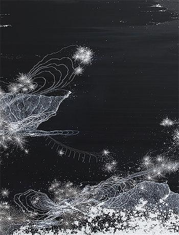 Sandra Cinto, serie 'Nocturne – bridges', 2019 (detalle)