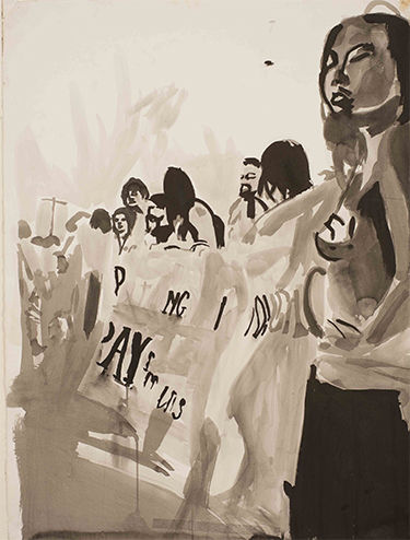 Ariane Hafizi, 'Anti Iraq War'