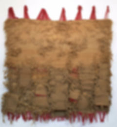 Josep Grau-Garriga, 'Textures fan mar', 1998, lana y jute, 220 x 225 cm