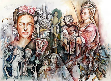 Felipe Alarcón, 'Joko Ono Fluxus y Vanguardias', serie 'Renacimiento de la Utopía', 2019