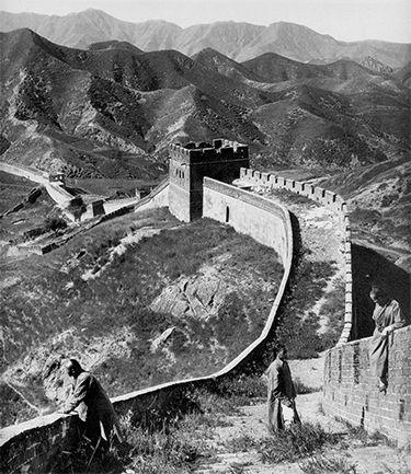 La Muralla China, 1907