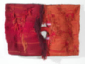 Josep Grau-Garriga, 'Lligam', 1973, lana, algodón y fibra sintética, 120 x 167 cm