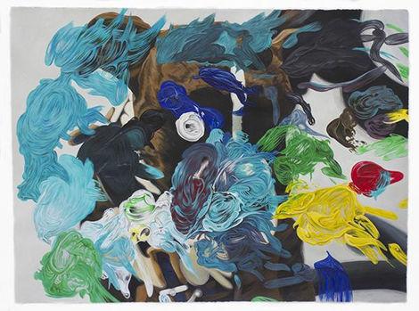 Eduardo Sarabia, 'Jaguar Bar Days', 2019, díptico